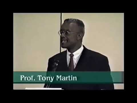 Professor Tony Martin – The Jewish Slave Trade of Africans