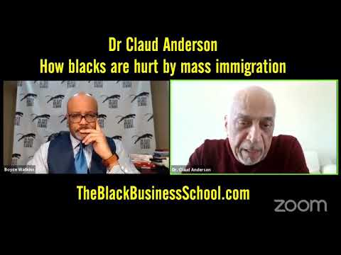 How blacks are harmed economically by immigration – Dr Claud Anderson