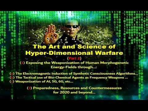 Dr. Phil Valentine- The Art and Science of Hyper-Dimensional Warfare part 2