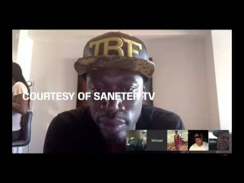 Ngozi and Marcus Beef with Young Pharoah ANHK GOES NUTS live on SaneterTV