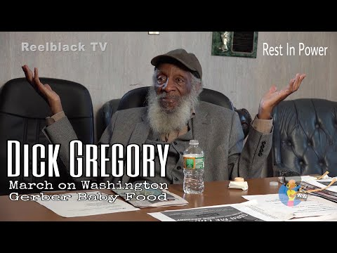 Dick Gregory – March On Washington/ Gerber Baby Food #unseen