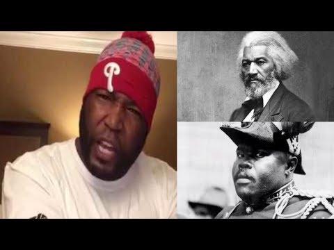 Umar Johnson Mocks Fredrick Douglass & Marcus Garvey