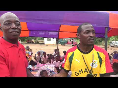 Supplies & Donations to the Marcus Garvey School at GarveyTown – Ghana May 2019 Tour