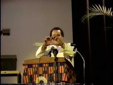 Asa G  Hilliard III, ASCAC New York 1998
