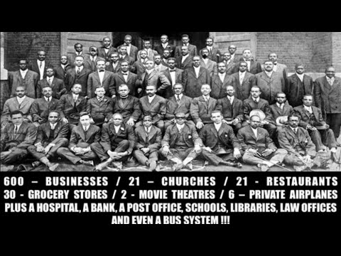 Black Wall Street, Babylon & The Mighty Sins of The Israelites