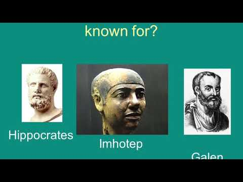The father of Medicine Imhotep by Dr Yosef Ben
