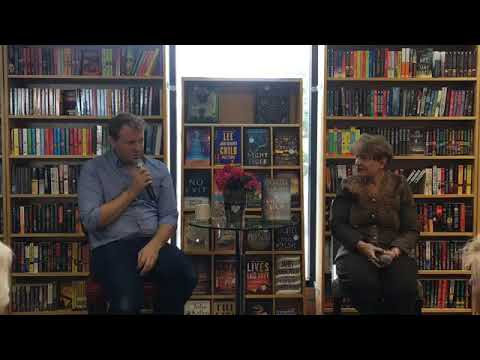 Charles Finch discusses THE VANISHING MAN with Barbara Peters