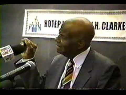 The African Holocaust  – Dr. John H  Clarke www.MelaninDVDs.com