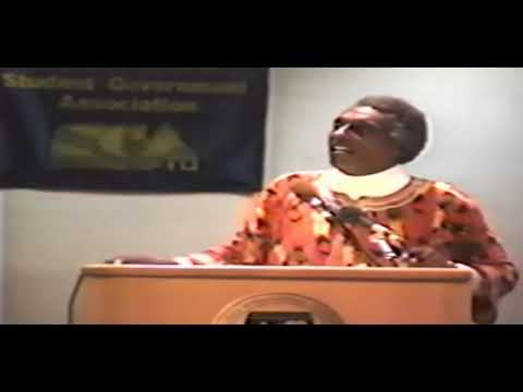 Kwame Ture :The only way you speak leadership is your involvement