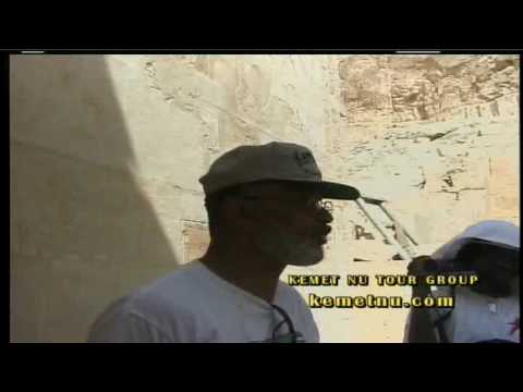 Ashra and Merira Kwesi Speak at the Holy Temple of Hatshepsut – Kemet (Egypt)