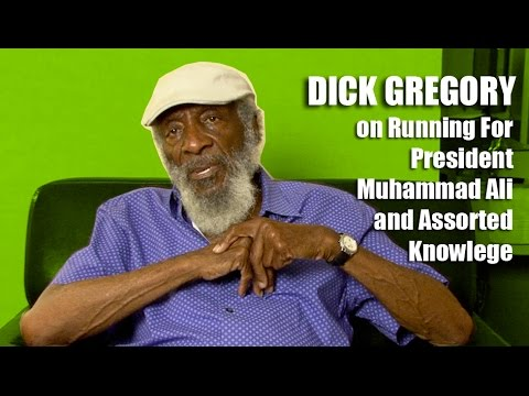 Dick Gregory – On Running For President, Muhammad Ali and Assorted Knowledge