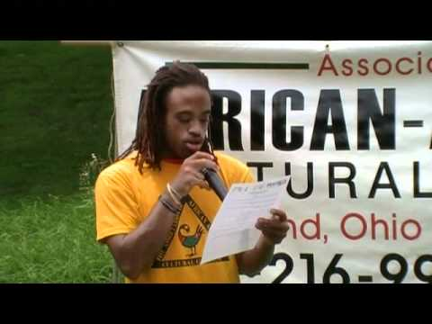 Durotimi Troy recites 'Our Ancestors' by Pastor Ray Hagins