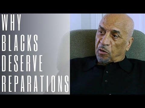 Dr Claud Anderson explains why we deserve reparations