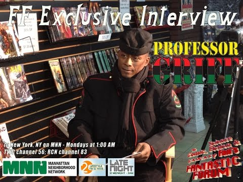 Fantastic Forum Interview with Professor Griff