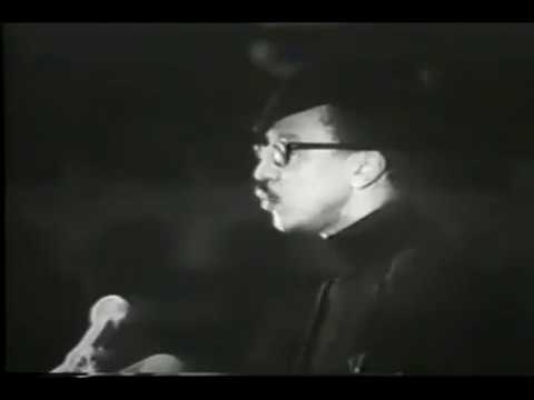 Free Huey Newton Rally! with H. Rap Brown & Kwame Ture (fka Stokely Carmichael)