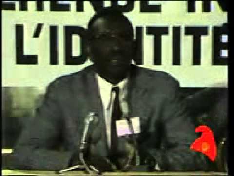 Cheikh Anta Diop   Francophonie et Langues Africaines