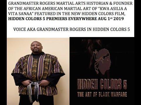Hidden Colors 5 Voice aka Grandmaster Rogers Promo