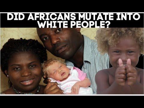 Did Africans Mutate into White People? Kaba Kamene