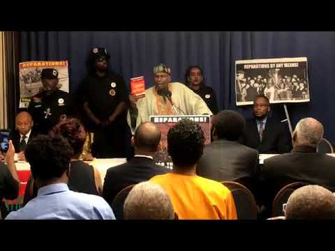 DR LEONARD JEFFRIES speaks @ The REAL forum on REPARATIONS