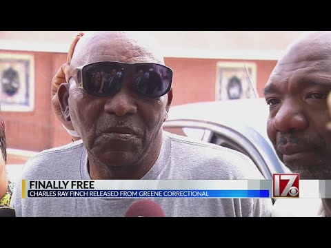 Charles Ray Finch goes free after 43 years in prison