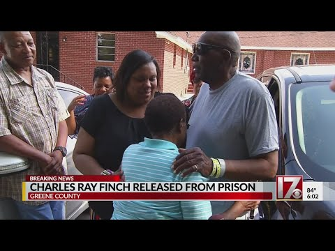 Family thanks God for Charles Finch's release after 40+ years behind bars