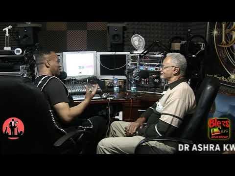 Dr Ashra Kwesi USA Historian Exclusive Bless Radio UK Interview