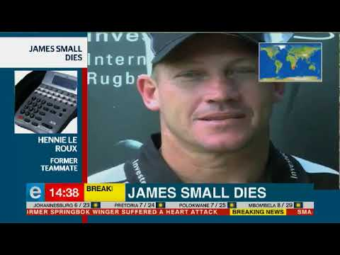 Former Boks share fond memories of James Small