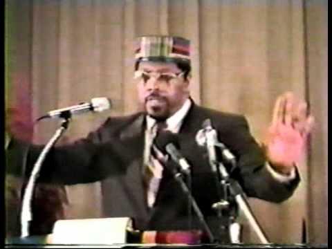 Amos Wilson speaks
