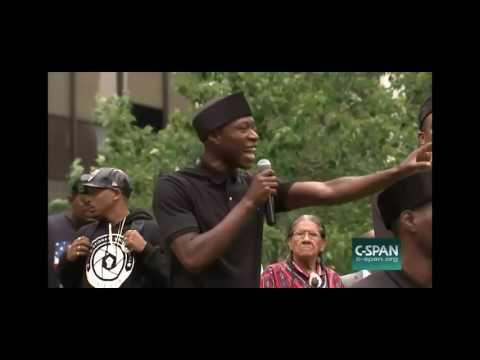 Brother Polight Black Lawyers For Justice Rally 7/16/16 Cleveland