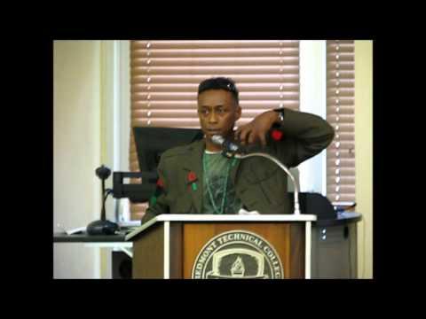 """Boss Conference Keynote Speaker """"Professor Griff"""""""