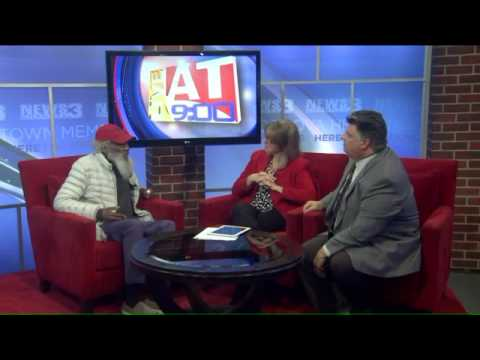 Activist Dick Gregory honors Dr. Martin Luther King, Jr.