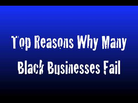 Why Black Business Fails