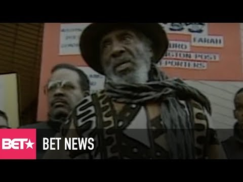 Celebrating The Life Of Dick Gregory, A Comedian And Civil Rights Leader