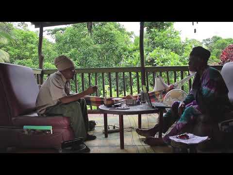Mutabaruka Exclusive interview on his Verandah with Peter Shepherd