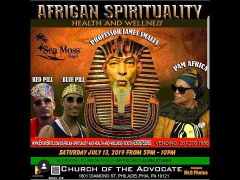 Professor Smalls African Spirituality 2019