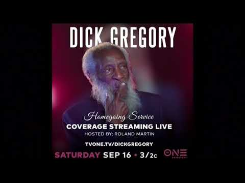 Dick Gregory's Homegoing Service To Be Held Saturday