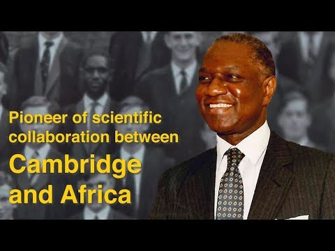 How Thomas Odhiambo changed African science and agriculture | #WeAreCambridge