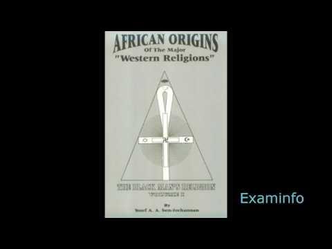 Dr. Yosef Ben Jochannon: African Origins of the Major Western Religions(audiobk pt 6)