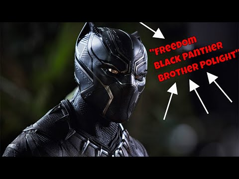 Brother Polight and the significance of Black Panther!