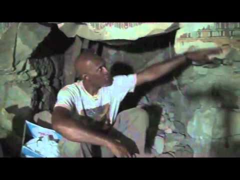 Anthony Browder in Burial Chamber of Karakhamun #2