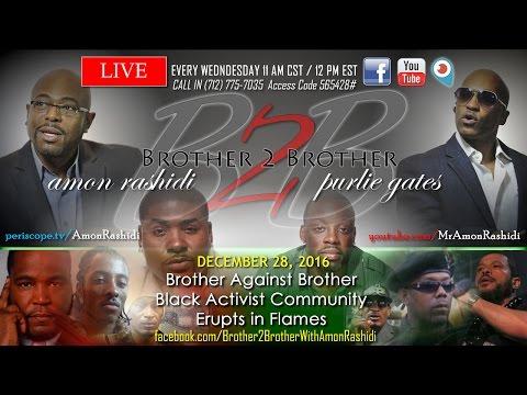 B2B #: Umar Johnson, Sara Suten Seti – Brother Against Brother