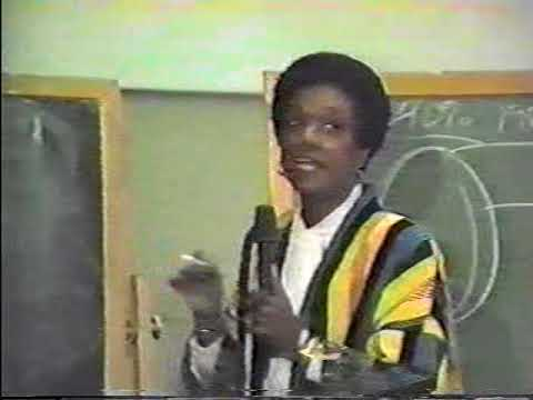 W.R.T. University Of Dallas Presents Dr. Francis Cress Welsing on Racism world wide Pt1.