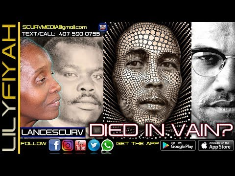 DID MARCUS GARVEY, BOB MARLEY & MALCOLM X DIE IN VAIN WASTING THEIR TIME FIGHTING FOR BLACK PEOPLE?