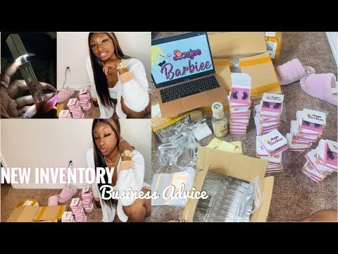 NEW INVENTORY | BUSINESS ADVICE | FREE LIPGLOSS BASE FOR BLACK FRIDAY ! 😱