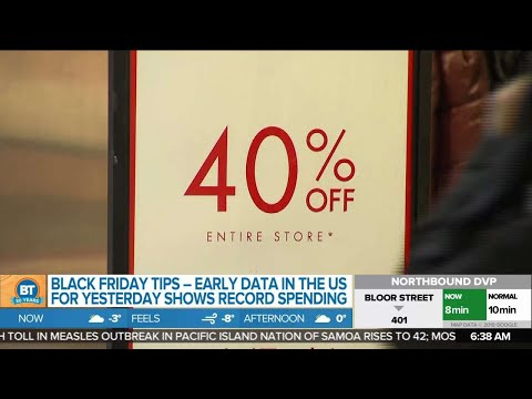 Business report: Bay Street starts the day at a record, Black Friday tips