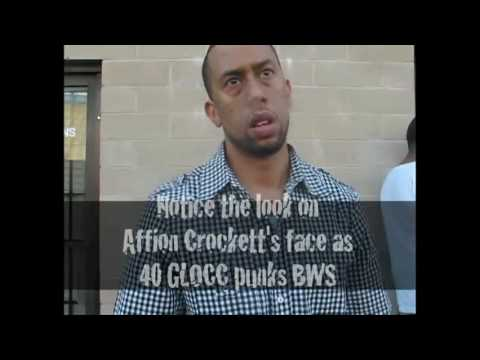 Raw footage of a THE GAME black wall street member punked by 40Glocc + More footage Coming soon