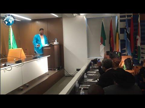 Dr Umar Jonhson Message to African union embassy of Washington DC