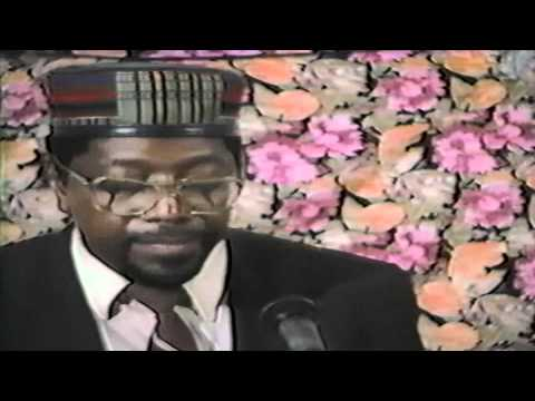 1 – RACIAL IDENTITY IS  OPPORTUNITY IN CRISIS – Dr. Amos Wilson