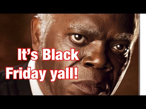 Dr Claud Anderson discusses Black Friday spending and Thanksgiving
